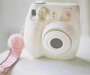 camera, cute, and hello kitty image