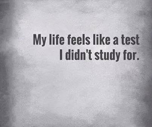 life, test, and quotes image
