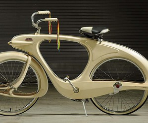 art deco and bicycle image