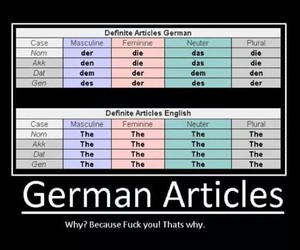 Easy, german, and learn image
