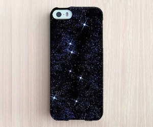 night, stars, and iphone 5s case image