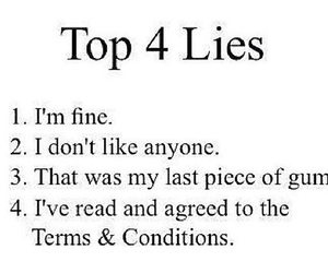 lies, true, and quote image