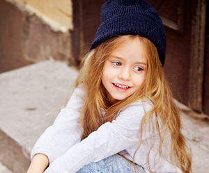 Cute Girl And Kids Image