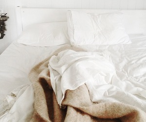 vintage, white, and bed image