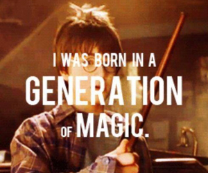 magic, harry potter, and generation image