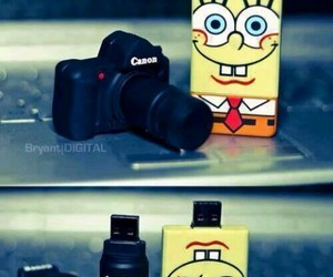 canon, usb, and spongebob image