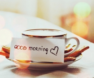 good morning, morning, and coffee image