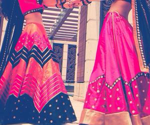 dress, girl, and india image