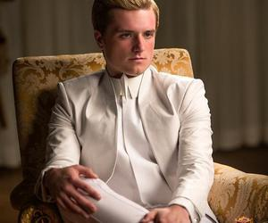 josh hutcherson, peeta mellark, and mockingjay image