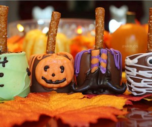 candy, Halloween, and fall image