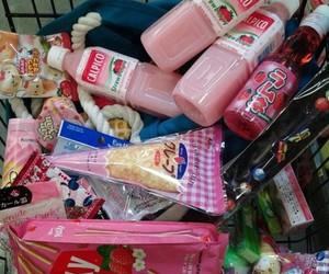food, pink, and kawaii image