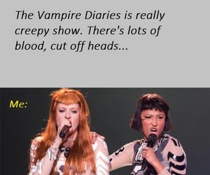 funny, the vampire diaries, and tvd image