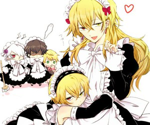anime, pandora hearts, and vincent nightray image