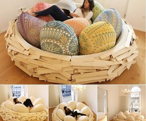 couch, playground, and birdnest bed image