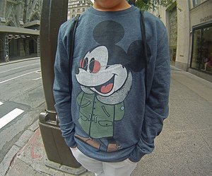 boy, mickey, and photography image