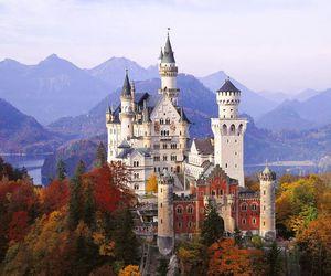 castle, germany, and neuschwanstein image