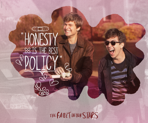 tfios, augustus waters, and isaac image
