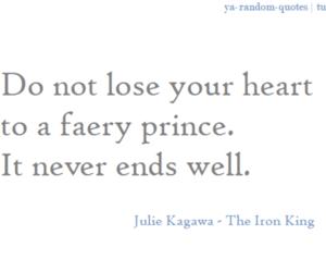 iron fey, julie kagawa, and iron king image
