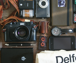 camera, photography, and watch image