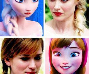 frozen, ouat, and anna image