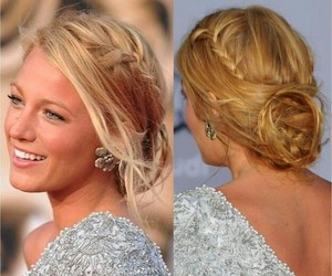 blake lively and hair image