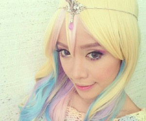 unicorn, michelle phan, and beauty image