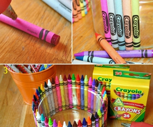 crayons, diy, and Easy image
