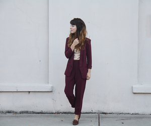 burgundy, clothes, and dark red image