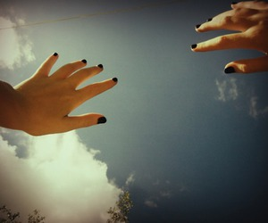 sky and nails image