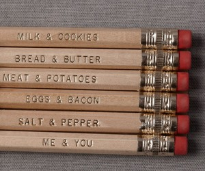 pencil and food image