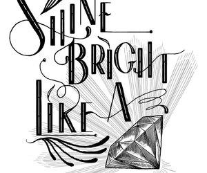 shine and diamont image