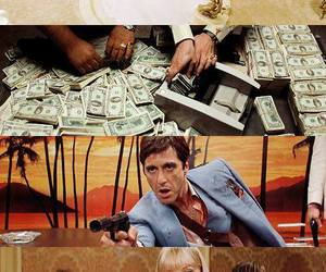 al pacino, rich, and scarface image