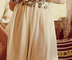 bohemian, boho, and clothing image