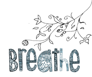 blue, breathe, and quotes image