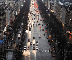 champs elysees and vreau image