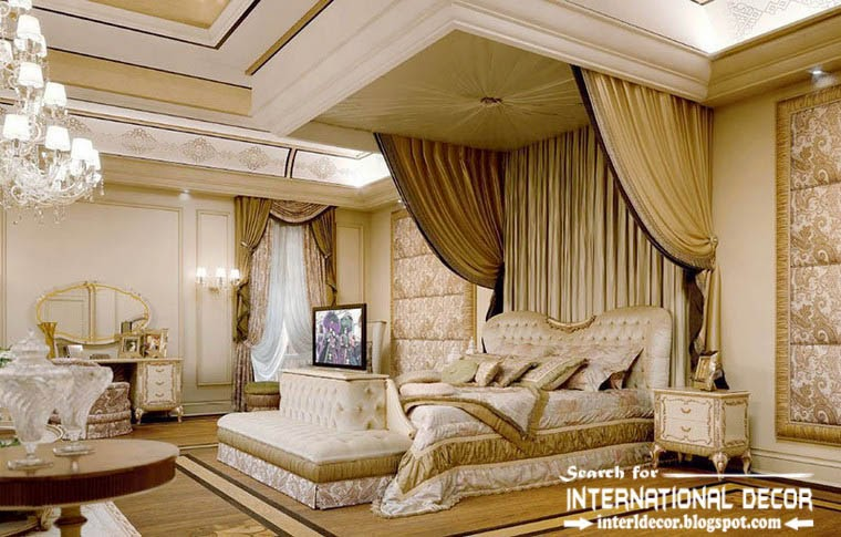 luxury classic bedroom interior design decor and furniture ...