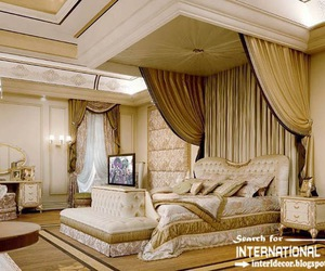 bedroom decor, bedroom design, and classic furniture image