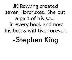 harry potter, jk rowling, and Stephen King image