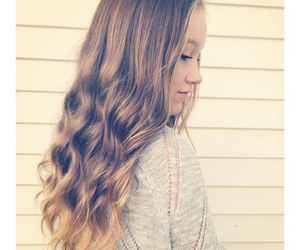 blond, curly, and curly hair image