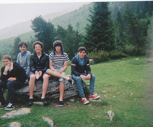 boy, friends, and nature image