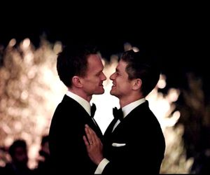 couple, neil patrick harris, and love image