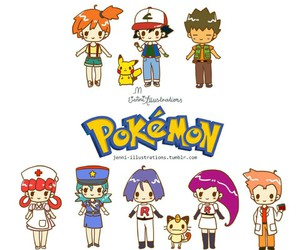 anime, nurse joy, and brock harrison image