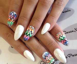 nails, nail art, and nail polish image