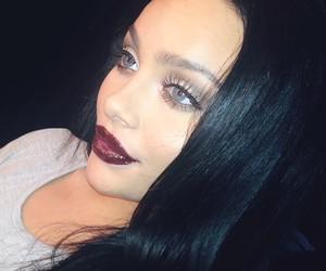 beauty, lip, and fashion image