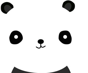 black, lovely, and pandas image