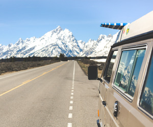 mountains, travel, and Road Trip image