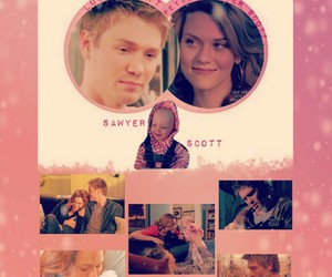 onetreehill, lucasscott, and peytonsawyer image