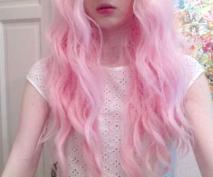 alternative, cotton candy, and pink image