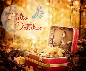 autum, bye, and hello image