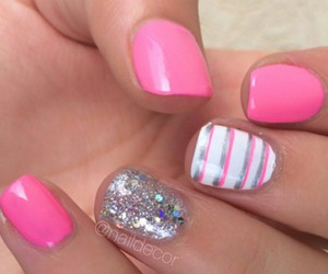 designs, nail art, and nails image